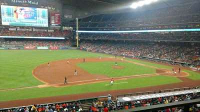 Minute Maid Park, section: 211, row: 1, seat: 3