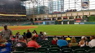 Minute Maid Park, section: 129, row: 12, seat: 5