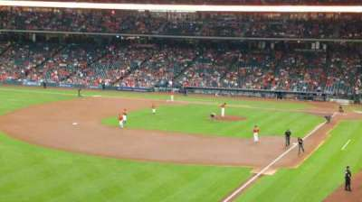 Minute Maid Park, section: 205, row: 4, seat: 5