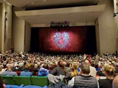 Des Moines Civic Center, section: 5E, row: Z, seat: 63