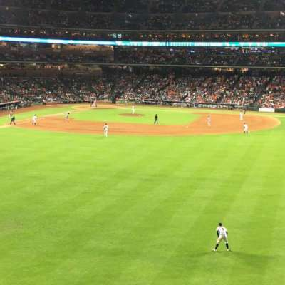 Minute Maid Park, section: 254, row: 1, seat: 15