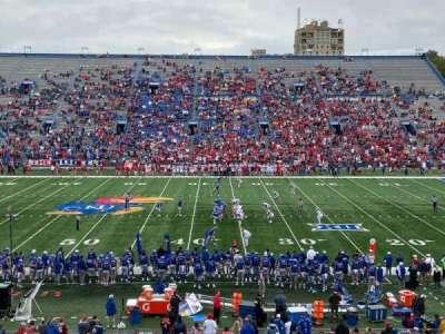 David Booth Kansas Memorial Stadium section 5