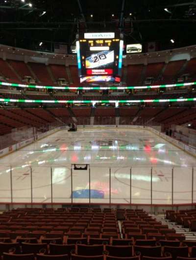 Honda Center, section: 215, row: A, seat: 4