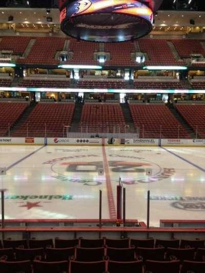 Honda Center, section: 208, row: K, seat: 9