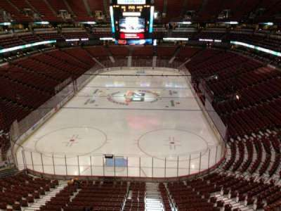Honda Center, section: 422, row: B, seat: 3