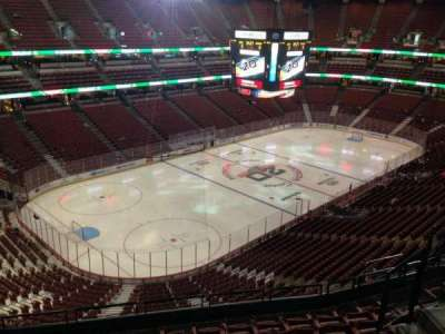 Honda Center, section: 417, row: H, seat: 7