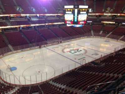 Honda Center  section 416