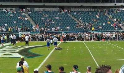 Lincoln Financial Field section 116