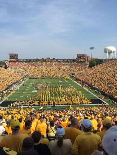 Kinnick Stadium section 216