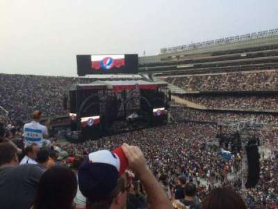 Soldier Field, section: 334, row: 10, seat: 1