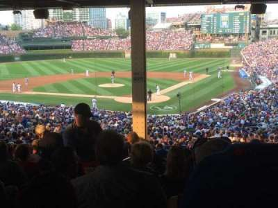 Wrigley Field, section: 215, row: 19, seat: 2