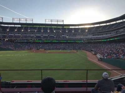 Globe Life Park in Arlington, section: 7, row: 5, seat: 7