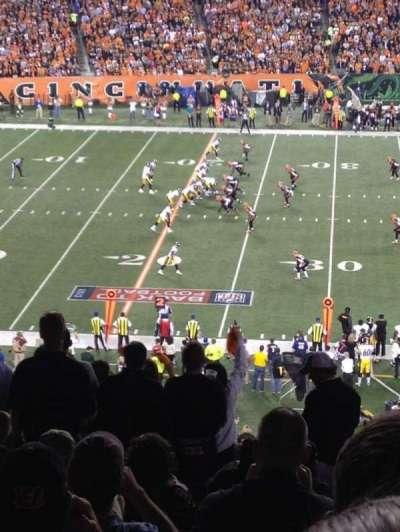 Paul Brown Stadium, section: 213