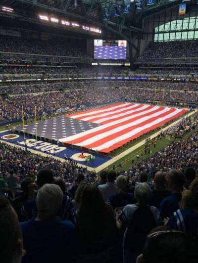 Lucas Oil Stadium, section: 449, row: 8, seat: 26