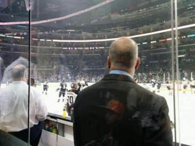 Staples Center section 119