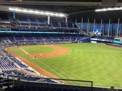 Marlins Park, section: 202A, row: 2, seat: 6