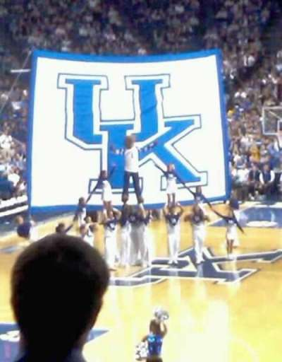 Rupp Arena, section: 20, row: m , seat: 4