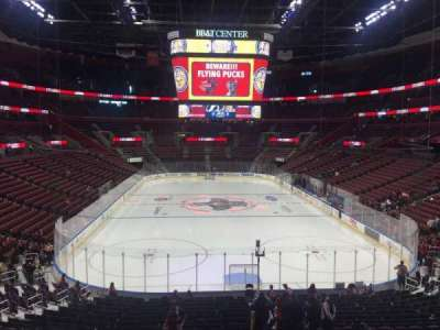 BB&T Center, section: 109, row: 24, seat: 17