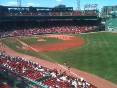 Fenway Park, section: Right Field Roof Deck Box 27, row: D, seat: 8