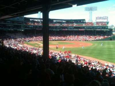 Fenway Park Section Grandstand 7 Row 9 Seat 22