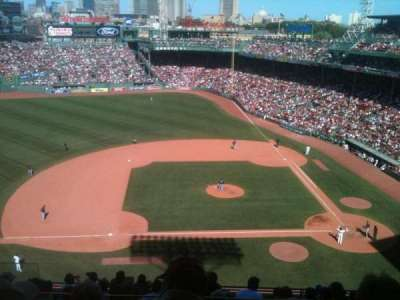 Fenway Park, section: 3rd Base Pavilion 6, row: 1, seat: 10