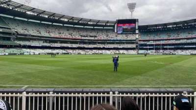Melbourne Cricket Ground, section: M28, row: D, seat: 16