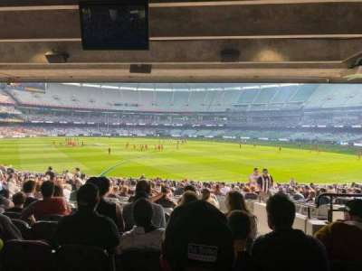Melbourne Cricket Ground, section: M9, row: JJ, seat: 5