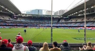 Marvel Stadium, section: Aisle 2, row: J, seat: 15