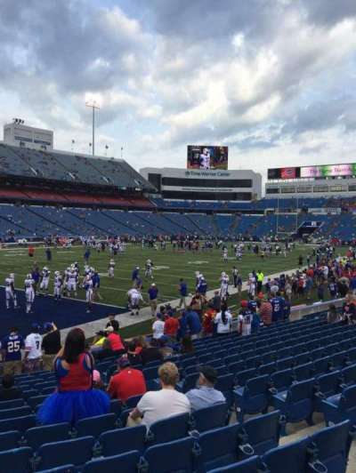 New Era Field, section: 139, row: 16, seat: 7