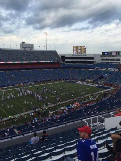 New Era Field, section: 337, row: 14, seat: 15