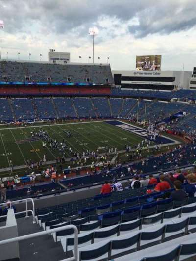 New Era Field, section: 334, row: 14, seat: 27