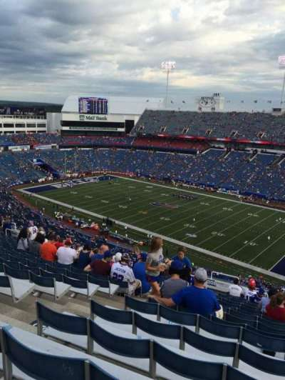 New Era Field, section: 307, row: 31, seat: 28