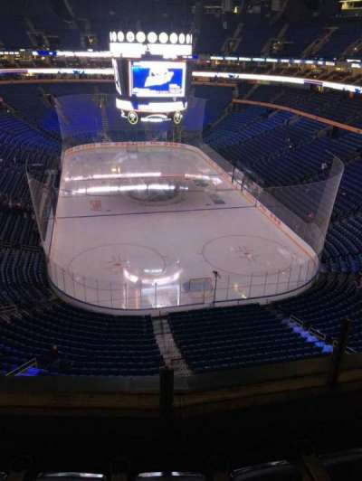 KeyBank Center, section: 300, row: 3, seat: 1