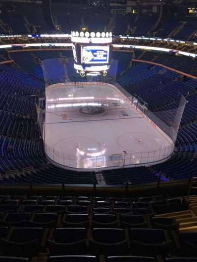 KeyBank Center, section: 300, row: 8, seat: 8