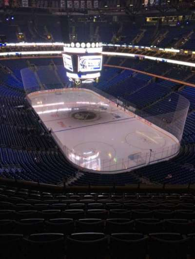 KeyBank Center, section: 301, row: 10, seat: 9