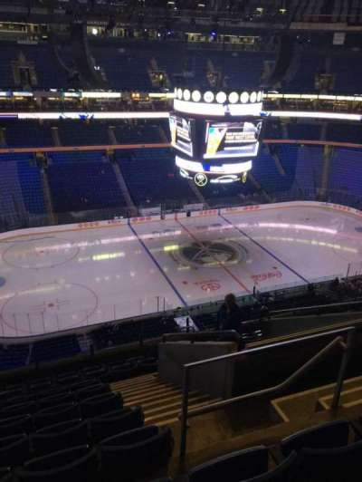 KeyBank Center, section: 308, row: 10, seat: 5