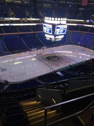 KeyBank Center, section: 309, row: 9, seat: 4