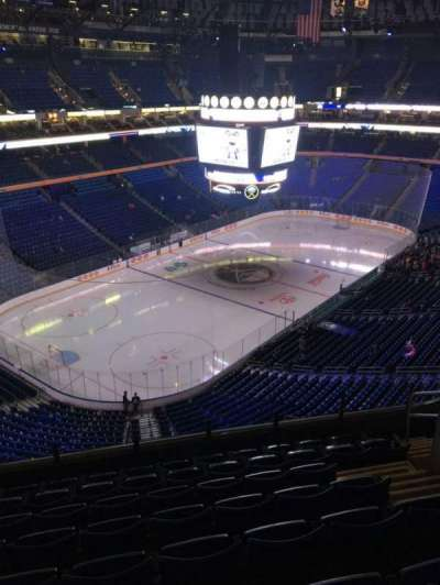 KeyBank Center, section: 310, row: 8, seat: 7