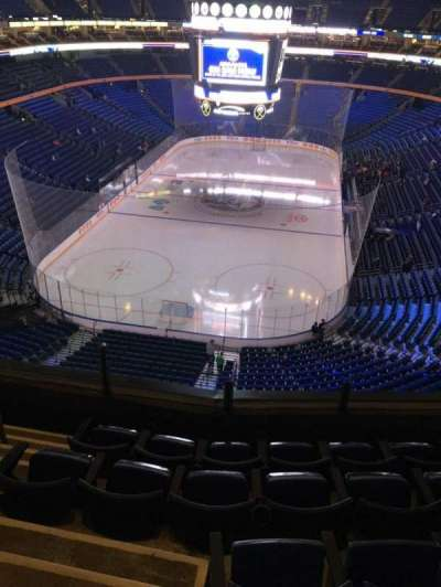 KeyBank Center, section: 312, row: 5, seat: 12