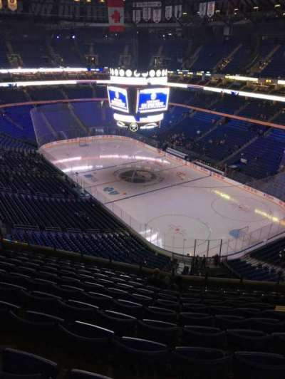 KeyBank Center, section: 316, row: 11, seat: 8