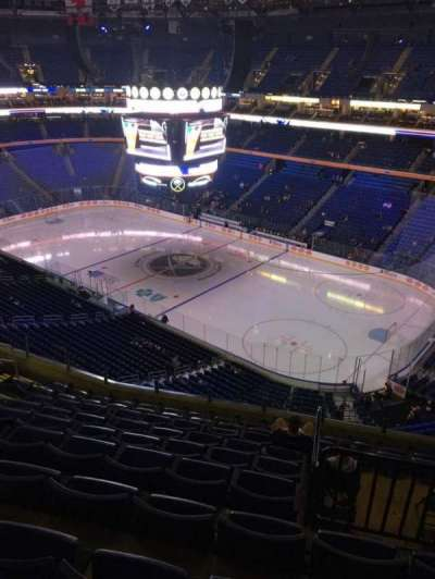 KeyBank Center, section: 317, row: 10, seat: 10