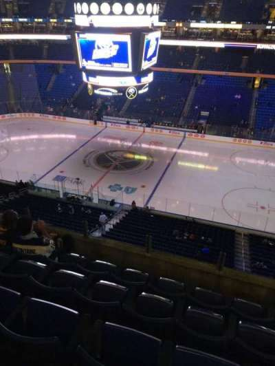 KeyBank Center, section: 319, row: 5, seat: 2