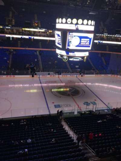 KeyBank Center, section: 321, row: 1, seat: 13