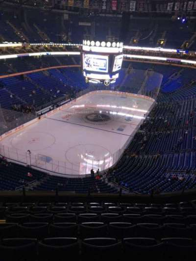 KeyBank Center, section: 325, row: 8, seat: 15