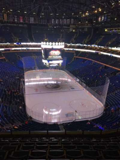 KeyBank Center, section: 300, row: 9, seat: 11