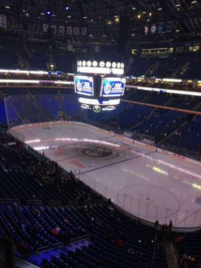 KeyBank Center, section: 303, row: 2, seat: 1