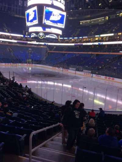 KeyBank Center, section: 101, row: 17, seat: 34