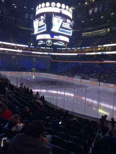 KeyBank Center, section: 102, row: 14, seat: 3