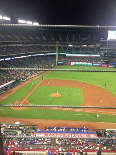 Globe Life Park in Arlington, section: 333, row: 1, seat: 1
