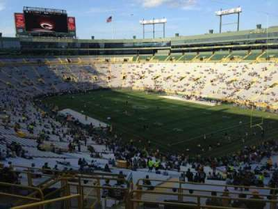 Lambeau Field, section: 342, row: 9, seat: 4